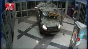 Photos: See How Thieves Robbed A Jewellery Store In Rambo Style Ram Raid